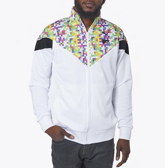 Disturbio Búho Reina  Puma Jackets & Coats | Puma Nwt Mtv Retro Track Jacket | Poshmark